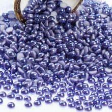 Acrylic Flat back Half Pearls - 3 4 5 6 8 & 10mm dark INDIGO PURPLE